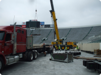 U2 Stage at MSU Spartan Stadium